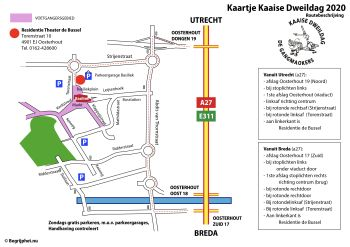 Route naar De Bussel - klik voor een vergroting